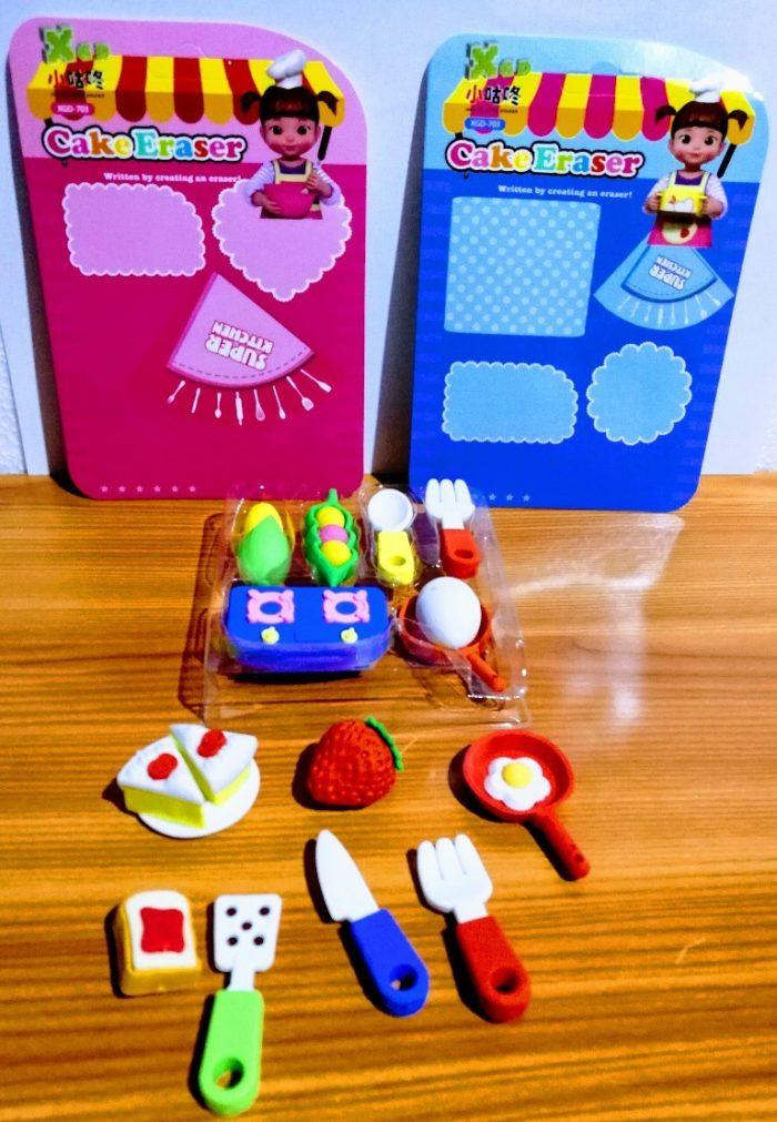kitchen erasers miniature small return gifts