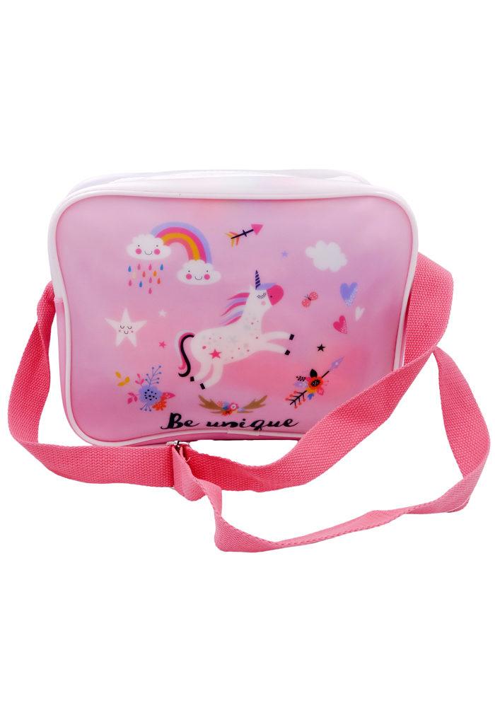 unicorn birthday return gifts sling bag