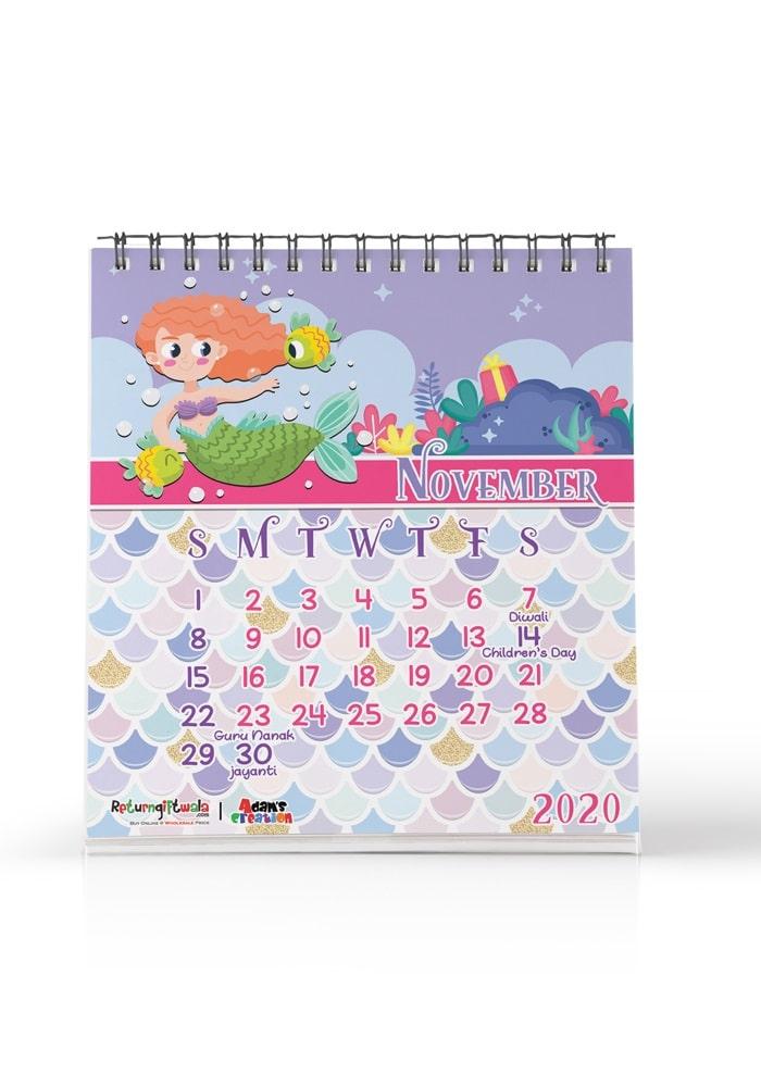 mermaid theme return gifts calendars online india