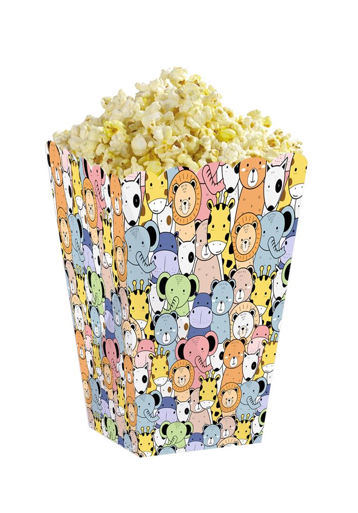 animal theme popcorn holder