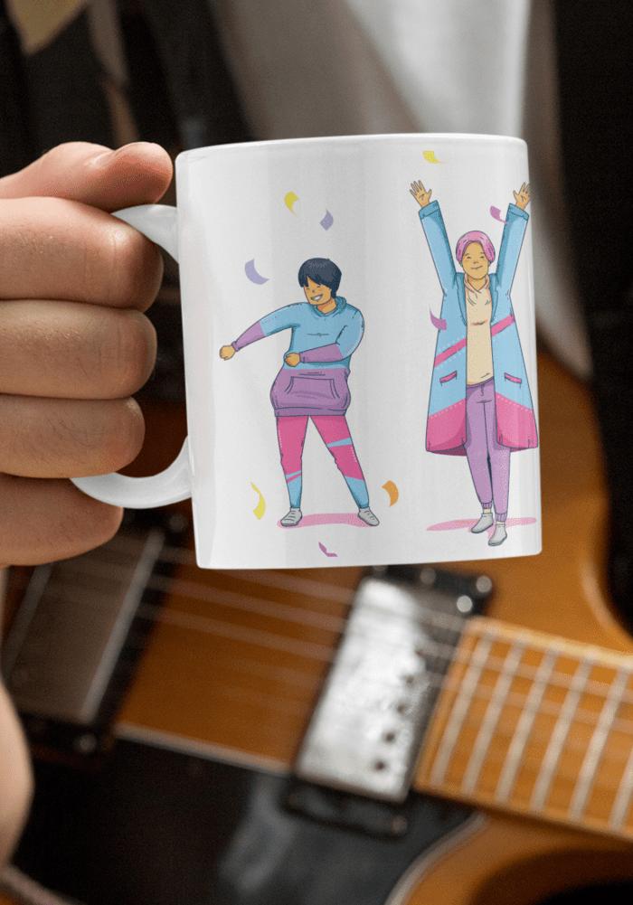 BTS Army mug designer coffee mug-min