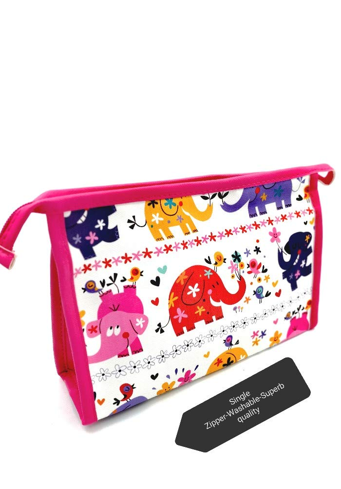 elephant theme jumbo pouch