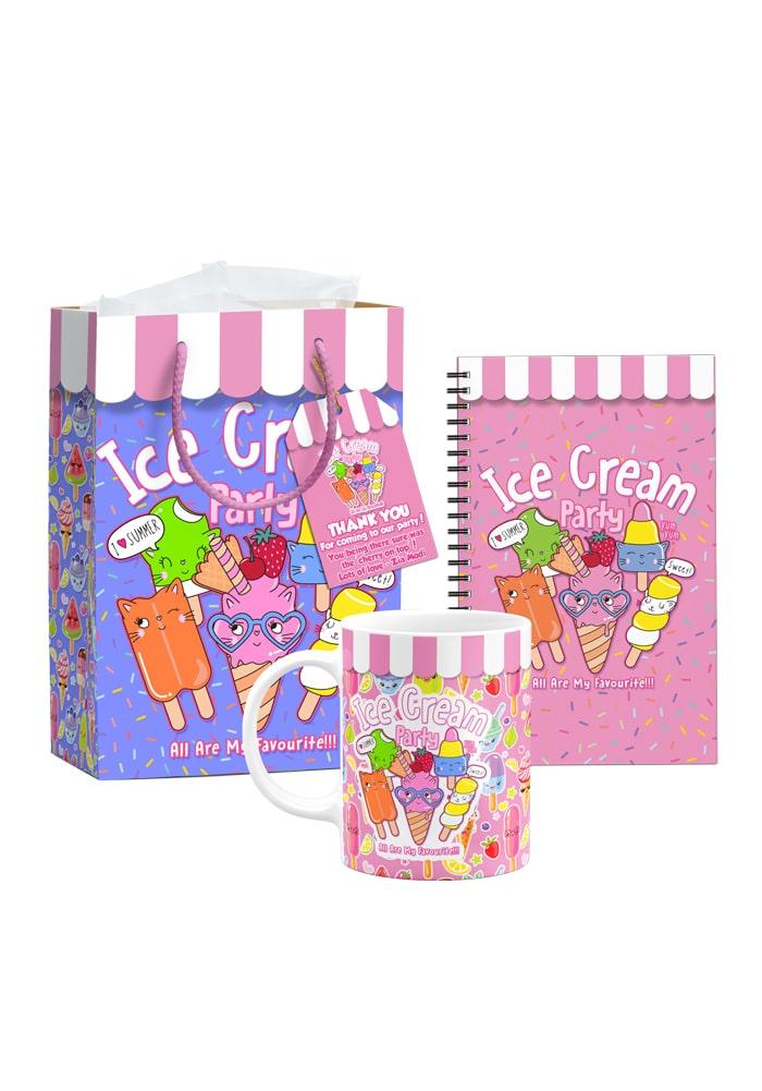 ice cream theme birthday return gifts