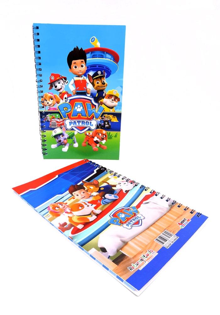 paw patrol theme diary for kids
