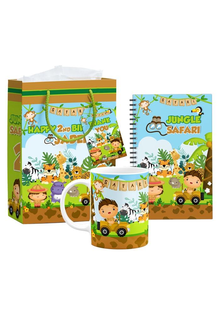 safari theme jungle kids return gifts combo